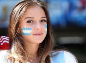 Supportrices au mondial 2018