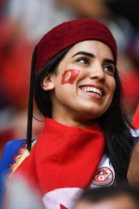 supportrice tunisienne